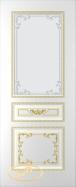 Двери Блюз белая эмаль